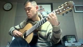 Richard Clayderman 의 A Comme Amour(가을의 속삭임) guitar 연주