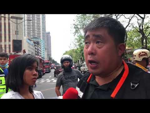 DRR incident manager on Manila Pavilion fire