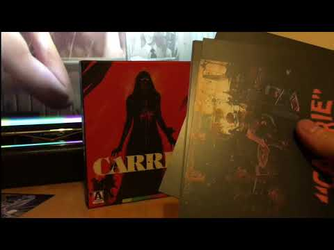 Arrow video limited edition Carrie (1976) Blu ray unboxing