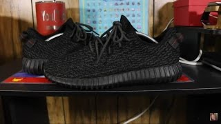 How to Tell If Your Yeezy Boost 350 Pirate Black Are Real! Legit Check!