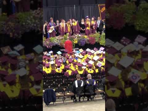 B naturals at Alvirne High School Graduation June 13, 2019