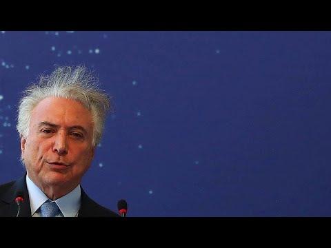 euronews (em português): Michel Temer detido na operação Lava Jato