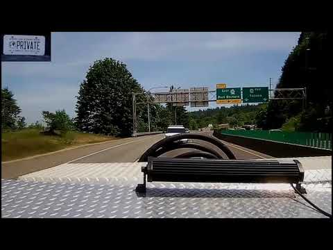 Private Traveler CHASES COPS To The DONUT SHOP!  Renton, Washington WSP