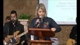 Testemunho e Ministração Prª Ana Batista   Pib Angra