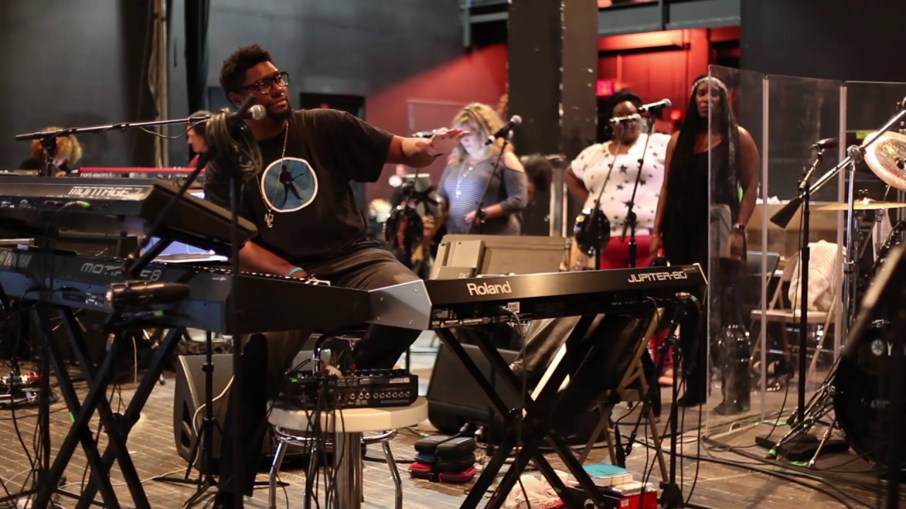 NPG Rehearsals for Official Prince Tribute with Musical Director, Morris Hayes