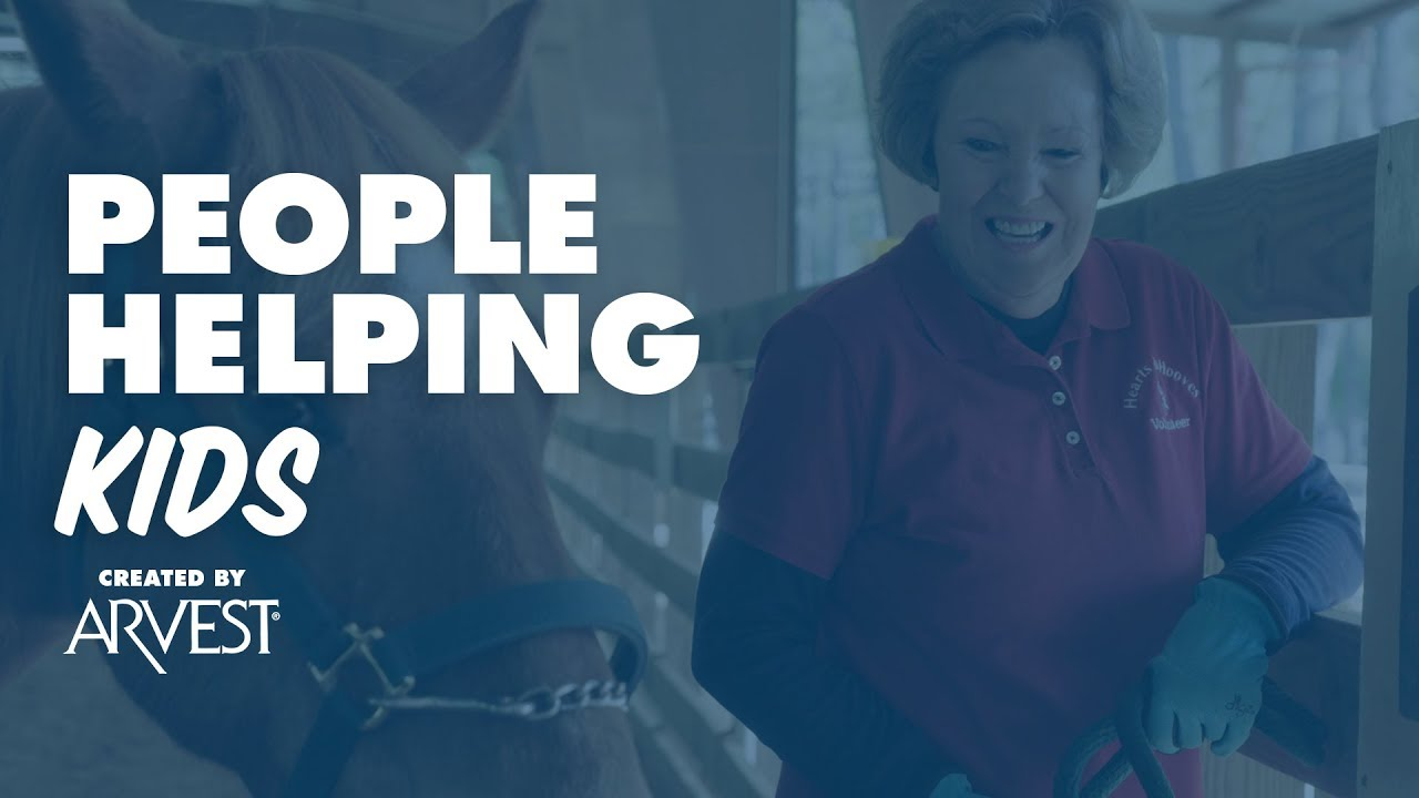 Elaine Gimblet Spends Retirement Years Giving Back – People Helping People  Created by Arvest Bank