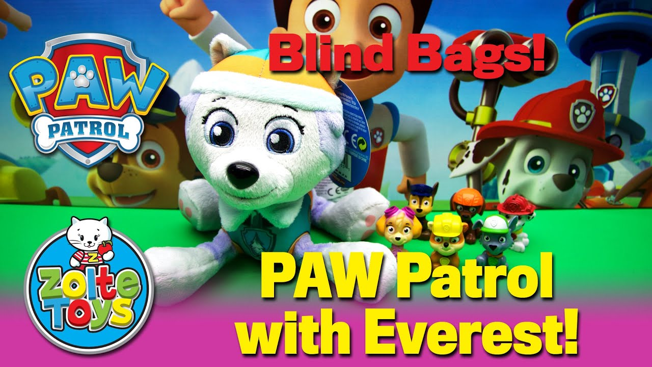 Best Paw Patrol Mini Blind Bags Opening Chase Marshall