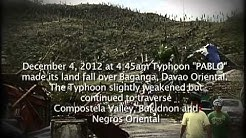 Help for victims of Typhoon Pablo (English)