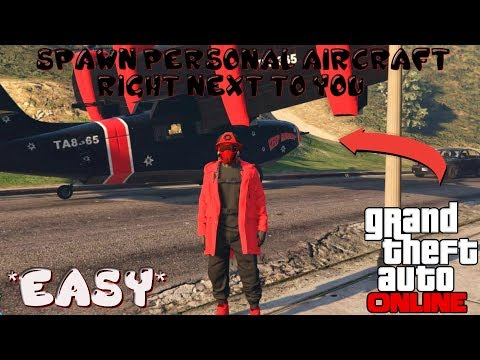 GTA 5 Online *New*Tips N Tricks+Spawn Personal Aircraft Next To You After Patch 1.41
