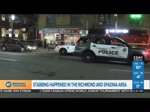 2 separate stabbings in Toronto overnight send 3 to hospital