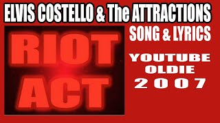 Elvis Costello - Riot Act (song & lyrics)