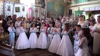 Перше Причастя 2014 Піддністряни