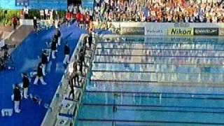 Mike Cavic - Champion in 50fly Rome 2009
