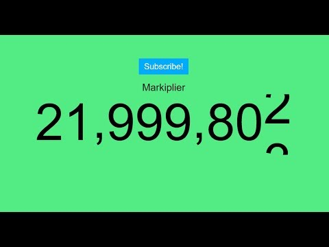 Markiplier 22 MILLION LIVE SUBSCRIBER COUNT!! Mp3