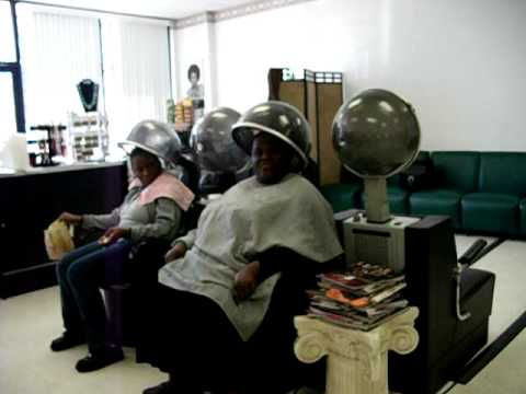 Pastor Duranice Pace at the Beauty Shop