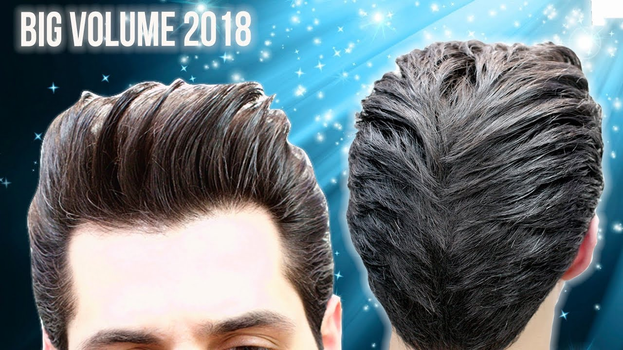 Must Watch Big Volume Quiff Mens Haircut And Hairstyle Tutorial Video 2018 Youtube