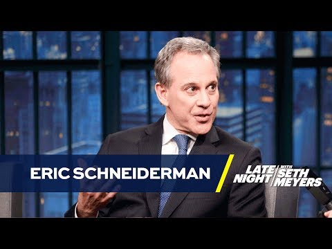NY Attorney General Eric Schneiderman Talks Suing Donald Trump