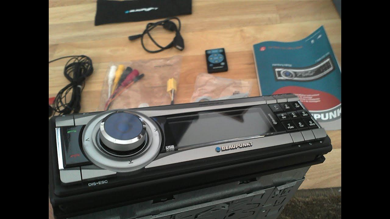 blaupunkt hamburg mp68 car stereo unboxing autoradio. Black Bedroom Furniture Sets. Home Design Ideas