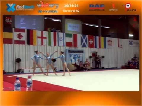 Gymfinity AG WG Balans Poorteman Elina Lambrigts Emma and Noens Hanna FIAC 2015