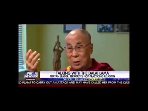 The Dalai Lama Owns Fox News On Islam, Muslims,Immigration and Orlando