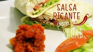 Salsa Picante Para Kebab Receta Fácil Youtube