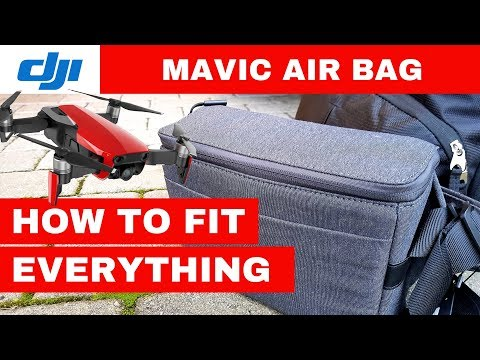 DJI Mavic Air Fly More Bag - How to Pack Mavic Air bag