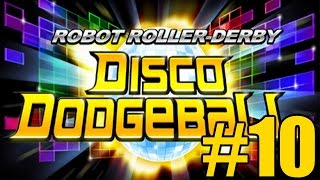 The FGN Crew Plays: Robot Roller Derby Disco Dodgeball #10 - Capture the Cube (PC)