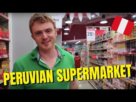 Peruvian Supermarket Tour + Peruvian Foods to Buy in Lima, Peru