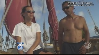 Hokulea crew departs Hawaii for final leg