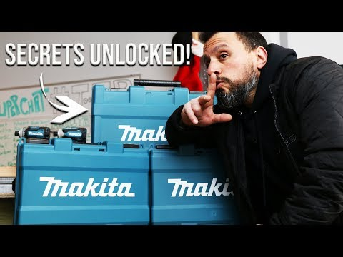 MAKITA TOOLS CASES HIDDEN FEATURES YOU DIDN'T KNOW ABOUT!