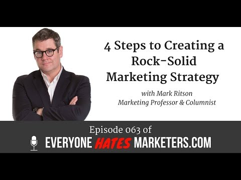 4 Steps to Creating a Rock-Solid Marketing Strategy With Mark Ritson