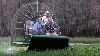 Visiting the Everglades on an Airboat with Chad Crawford