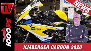 Carbon Tuning für BMW S 1000 RR, Panigale V4 und Co - Ilmberger auf der EICMA 2019