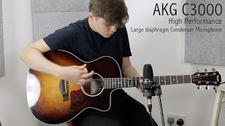 AKG C3000 microphone - 20 years on this is still a Project studio staple.