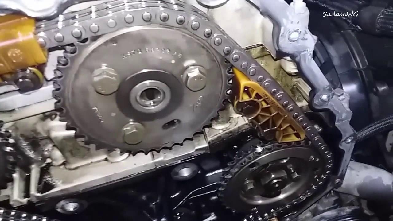 Demontaż łańcucha Rozrządu 2 Ford Mondeo Mk3 2 0 Tddi