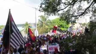 Long March on West Papua National Day in Port Vila Vanuatu 1rd Dec 2014 03