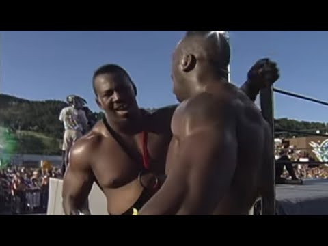 Harlem Heat vs. Bam Bam Bigelow & Kanyon - WCW Tag Team Championship Match: WCW Road Wild 1999