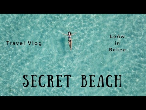 Secret Beach - Top Swimming Spot In Ambergris Caye - LeAw In Belize