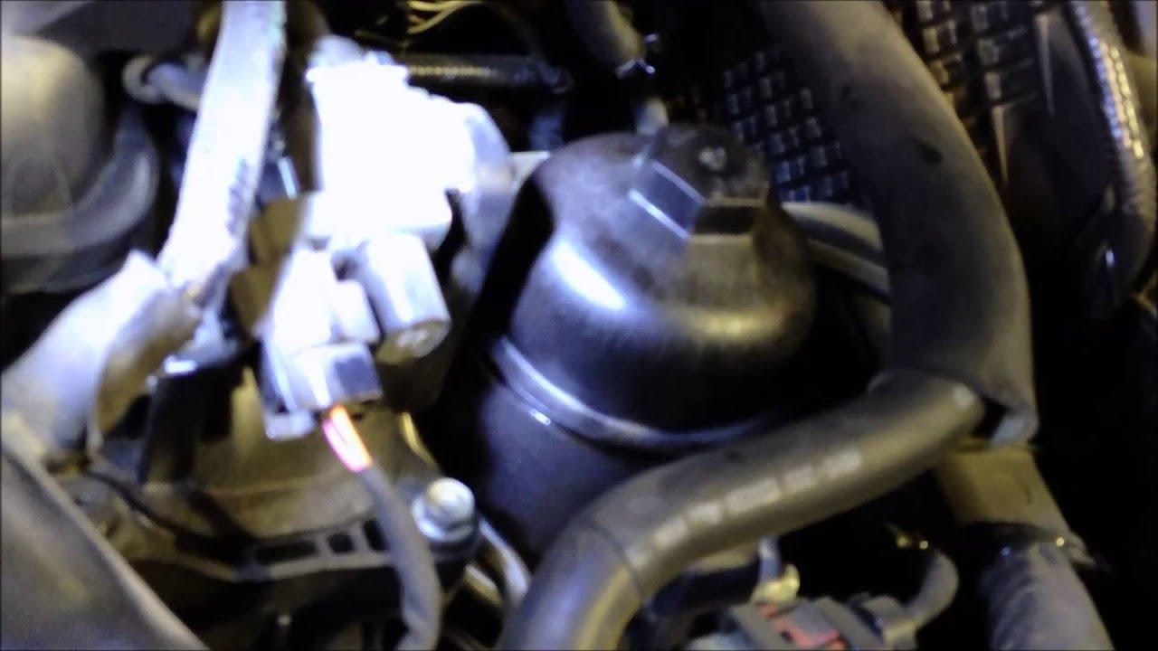 2014 Kia Sorento Oil Change - YouTube