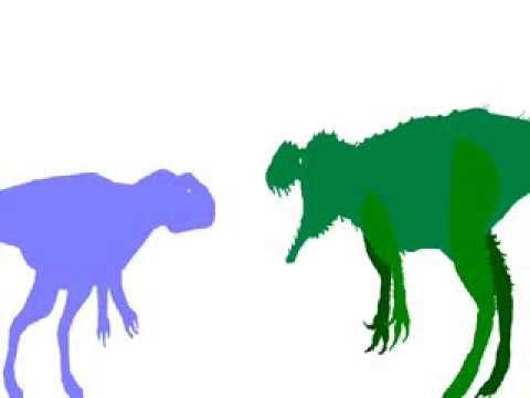 PDBA-  the revival: Sinotyrannus vs Megalosaurus