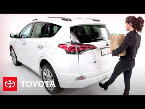 Toyota How-To: 2017 RAV4 Foot-Activated Power Liftgate | 2017 Toyota RAV4 |  Toyota