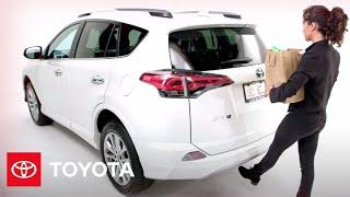 Toyota RAV4: RAV4 Foot-Activated Power Liftgate   Toyota