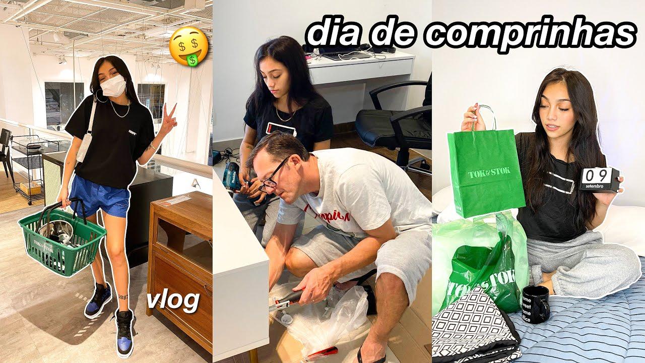 PRIMEIRAS COMPRAS PARA O QUARTO NOVO!