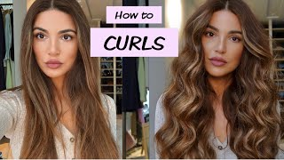 How to Create Mỳ Signature Curls