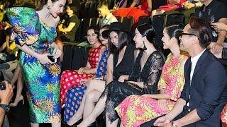 Angela Phương Trinh lễ phép chào hỏi Ngô Thanh Vân sau khi bị