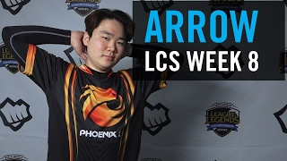 Phoenix1 Arrow discusses playing against Adrian and working with new supports Stunt and Shady.