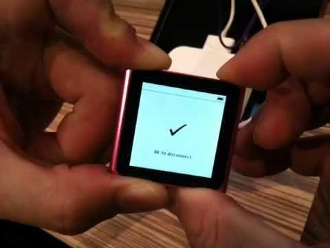 Diagnostic mode iPod Nano Gen6
