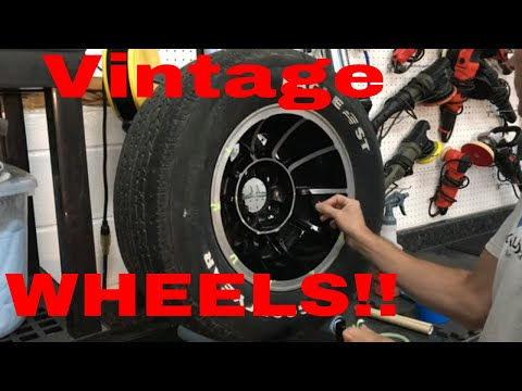 How To Restore Vintage Wheels! American Racing Equipment Wheels!