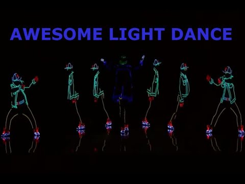 Light dance video on  America's got talent 2017 full audition-AMAZING performance by Light Balance