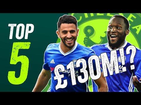 Chelsea Transfers: Lukaku and Mahrez to cost £130m?